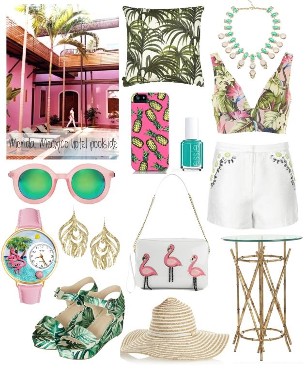merida-mexico-inspired-by-travel-tropical-pink-pool-palm-tree-flamingo-inspiration-vandi-fair
